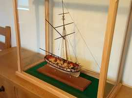 Period Ship in Presentation Case