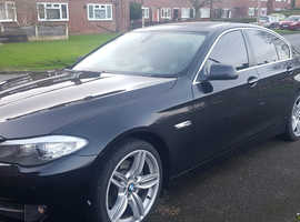 BMW 5 Series, 2010 (10) Black Saloon, Manual Diesel, 148,877 miles