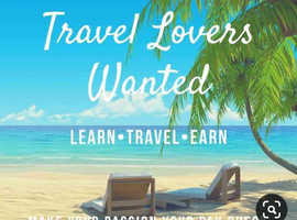 Work from home travel business