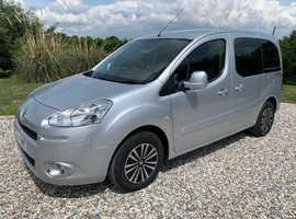 2015 Peugeot Partner Tepee Horizon S Petrol WAV Wheelchair Disabled *23K Miles*