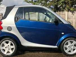 Smart CITY CABRIO, 2004 (04)  Coupe, Automatic Petrol, 87,000 miles