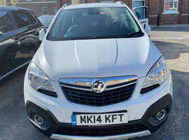 Vauxhall Mokka, 2014 (14) White Hatchback, Manual Petrol, 62,000 miles