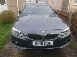 BMW 4 Series, 2015 (15) grey coupe, Automatic Diesel, 41,000 miles