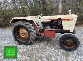 DAVID BROWN 885 CHEAP WORKING TRACTOR OFF FARM TRADE SALE SEE VID CAN DELIVER NO VAT
