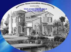 New house , House renovations, House extensions  and Comercial Spaces  Conversions