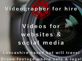 Videographer for hire / Video production service