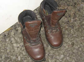 Walking boots size 10.
