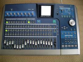 Tascam 2488 Mk2 digital 24 track recorder 80Gb hard drive