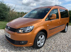 2015 VW Caddy Maxi C20 Life Automatic WAV Wheelchair Accessible Disabled 25K Miles
