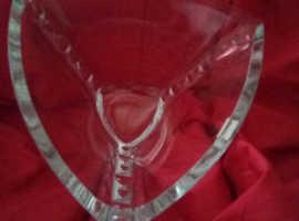Large Thomas Webb crystal bowl