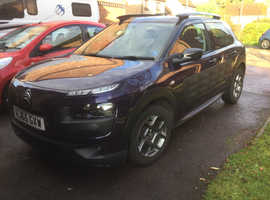 Citroen C4 CACTUS, 2015 (65) Purple Hatchback, Manual Diesel, 42,700 miles