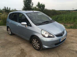 FEBRUARY 2020 MOT Honda Jazz, 2005 (54) Blue Hatchback, Manual Petrol, 115,000 miles