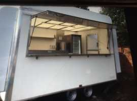 Catering trailer 12ft x7ft b/ new unused fully fitted stunning !