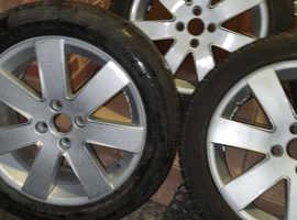 17inch ford alloy wheels
