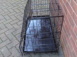 Dog transportation crate