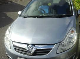Vauxhall Corsa, 2008 (08) Silver Hatchback, Manual Diesel, 80,025 miles