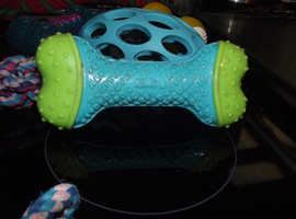 Blue Rugby Ball Dog Toy for Sale