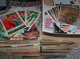 2000AD Magazines and miscellany for sale