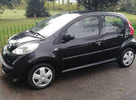 PEUGEOT 107 900cc 4 DOOR, 2006 REG, LONG MOT, FULL HISTORY, NICE SPEC WITH AIR CON & ONLY £20 A YEAR TO TAX