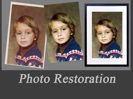 Wisbech photo restoration, printing and framing