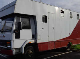 Ford Iveco 7.5 tonne horsebox