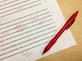 Proofreading and editing to make your document shine!