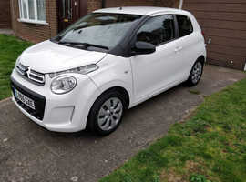 Citroen C1, 2016 (65) White Hatchback, Manual Petrol, 13,000 miles