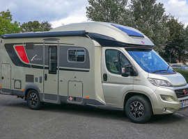 Used Burstner Ixeo-TL 680G: A Stunning Motorhome with Low Mileage!