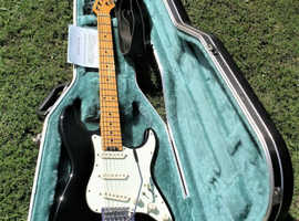 Blade Levinson Texas Standard Pro VSC guitar Sr No 136227 and solid lined case