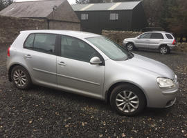 Volkswagen Golf, 2007 (07) Silver Hatchback, Manual Petrol, 154,183 miles