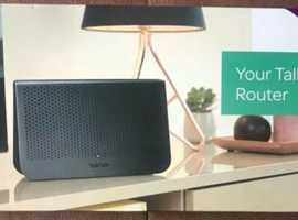 talktalk wifi hub adsl/vdsl router brand new