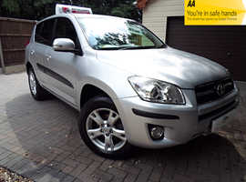 Toyota Rav4, D-4D X-TR  150 BHP 6 SPEED 4X4-2009 (59) Silver Estate, Manual Diesel, 107,000 miles