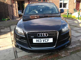 Audi Q7 S Line, top of the range 4.2L V8 remapped, diesel.