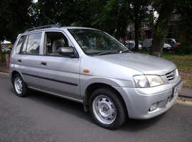 Mazda Demio, 2000 (X) AUTOMATIC, ONLY 61,325 MILES. FULL MOT HISTORY