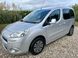 2015 Peugeot Partner Tepee S Wheelchair Accessible WAV Disabled Automatic Ramp 5 Seater *ONLY 9,000 Miles*
