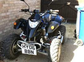 Road legal 250cc Quadbike