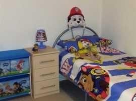 Paw Patrol Bedroom Accessories 17-Item Bundle - All Excellent Condition
