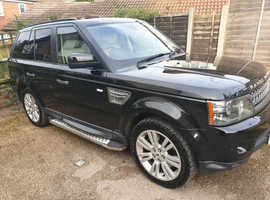 Land Rover Range Rover Sport, 2010 (10) Black Estate, Automatic Diesel, 104,000 miles