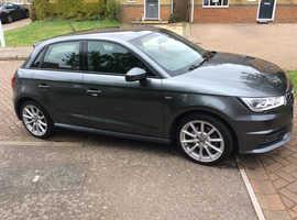 Audi A1, 2015 (65) Grey Hatchback, Semi auto Petrol, 24,500 miles