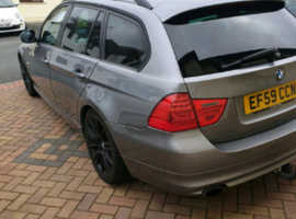 BMW 3 Series, 2009 (59) Grey Estate, Manual Diesel, 120,000 miles