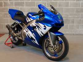 Kawasaki ZX6R J2 Track Bike (Very quick little bike with loads of Mods & Upgrades) Candy Lightning Blue
