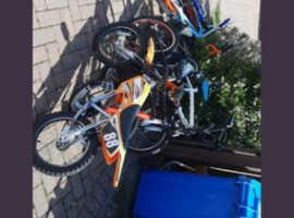 7 mixed bikes