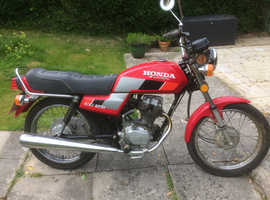 1989 HONDA CG125  31 YEAR OLD CLASSIC WITH JUST 1,066 MILES FROM NEW