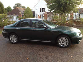 ROVER 75 1.8 CLUB SE MOT 11 MONTHS SERVICE HISTORY ONE OWNER SINCE 2010 ALLOYS AIR CON CHEAP CAR