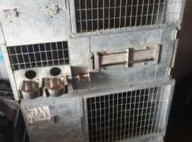 aluminium 2x breeding cage