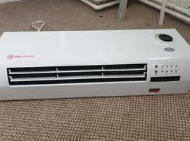 Prem-I-Air Remote Control Over Door Air Curtain. Shop Heater