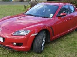 Mazda RX-8, 2006 (06) Red Coupe, Manual Petrol, 36,750 miles