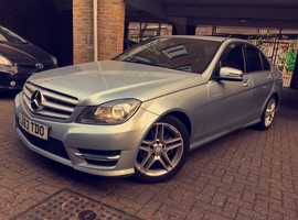 Mercedes-Benz C Class C180 BlueEFF AMG Sport 7G-Tronic Plus, 2013 (63 plate) Automatic, Petrol for only £12,300 ONO.