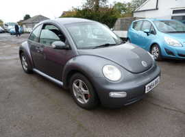 Volkswagen Beetle, 2004 (54) Grey Hatchback, Manual Petrol, 124,379 miles