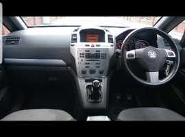 Vauxhall Zafira, 2010 (10) Red MPV, Manual Diesel, 67,500 miles